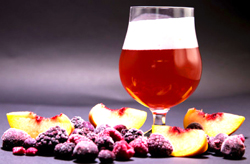 brewing with fruit juice