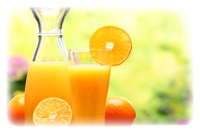 clear orange juice concentrate