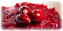 cranberry puree