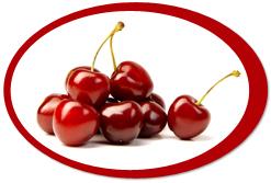 dehydrated cherries and cherry powder