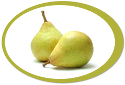dehydrated pears and pear powder