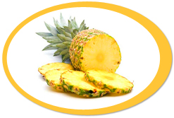 dehydrated pineapples and pineapple powder