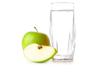 deionised apple juice concentrate