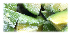 iqf frozen avocados
