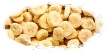 iqf frozen bananas