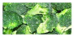 iqf frozen broccolies