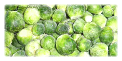 iqf frozen brussels sprouts