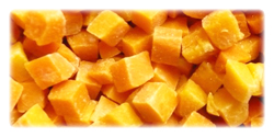 iqf frozen butternut squashes