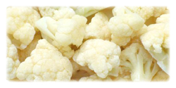 iqf frozen cauliflowers