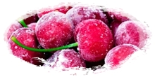 iqf frozen dark sweet cherries