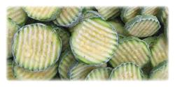 iqf frozen zucchinies