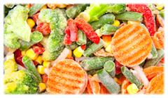 organic frozen vegetables
