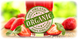 organic strawberry concentrate